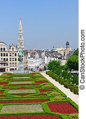 Mont des Arts in Brussels, Belgium - Mont des Arts is the...