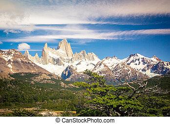 Mont Fitz Roy in Argentina