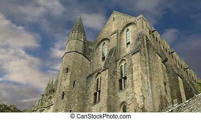 mont heiliger-michel, normandie, frankreich