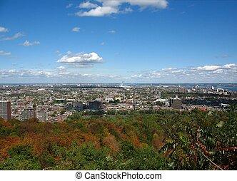 mont-royal, モントリオール, 光景