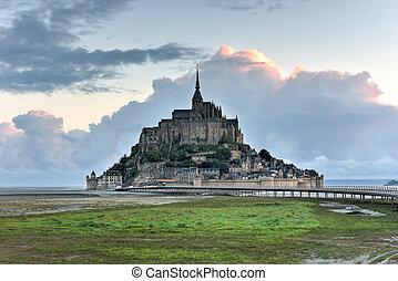 Mont Saint-Michel - France - Beautiful Mont Saint-Michel...