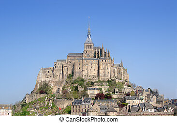 Mont St Michel, Brittany, Northern France