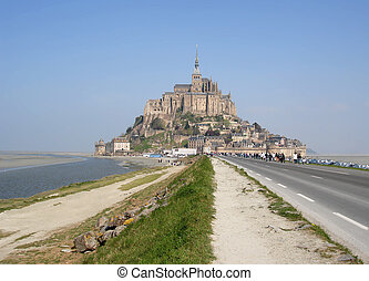 Mont St Michel, Brittany, Northern France...