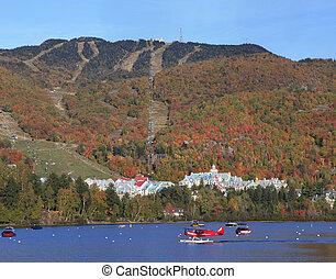 Mont Tremblant in autumn