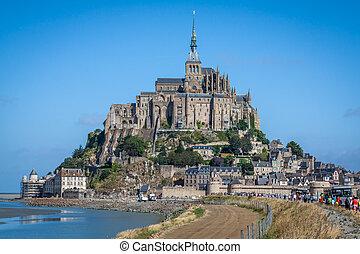 mont22#saint michel, -, normandie, -, frankrike