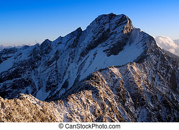 montaña, jade, 14