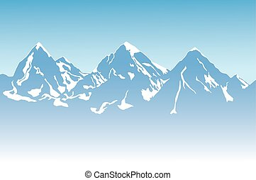 montaña, plano de fondo