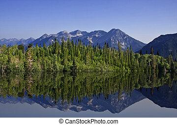 montaña, reflexiones