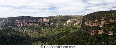 montañas azules, australia, valle, grose