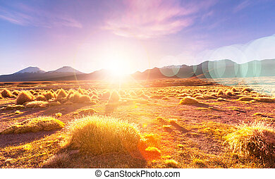 montañas, bolivia