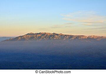 montañas, bucegi