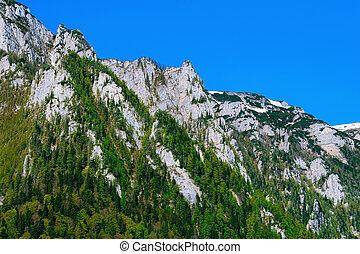 montañas, bucegi, rumania