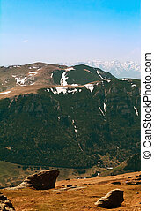 montañas, carphatians), bucegi, (south