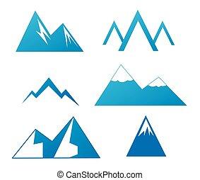 montañas, colección