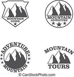 montañas, conjunto
