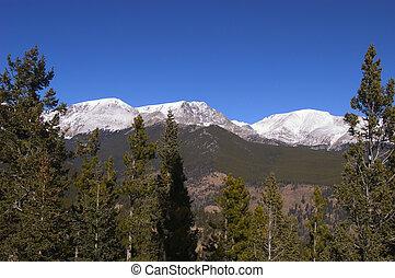 montañas, rocoso