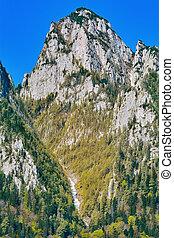 montañas, rumania, bucegi