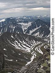 montañas, ural