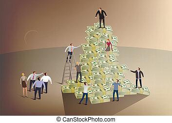 montañismo, escalera, corporativo