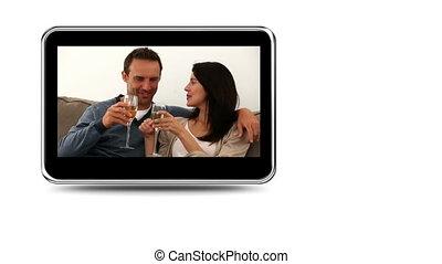 Montage of happy couples