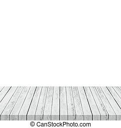 montage, product., isoler, bois, fond, table, blanc, exposer, vide