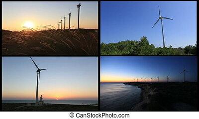 montage wind turbine 1