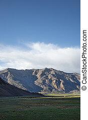 montagna, canyon, valle