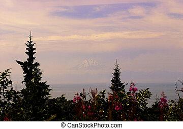 montagna, galleggiante
