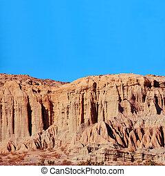 montagna, morte, stati uniti, parco nazionale, serie, valle, california