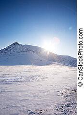 montagna, neve