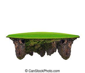 montagna, pietra, multiuso, uso, campo, strabiliante, sfondo verde, erba, fondale, calce