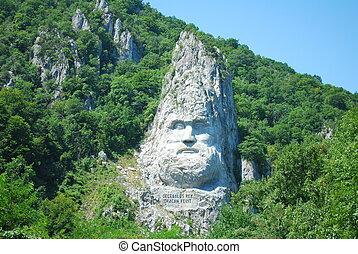 montagna, scultura