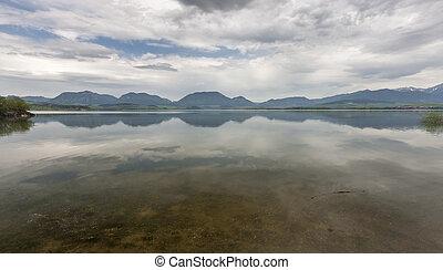 montagna, Slovacchia, lago,  tatra