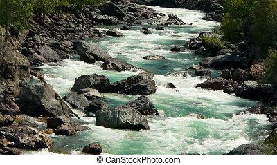 montagne, 13, rivière
