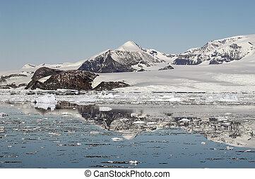 montagne, antartico