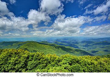 montagne appalachian