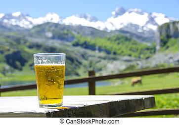 montagne, bière