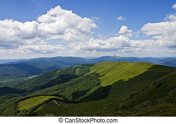 montagne, bieszczady