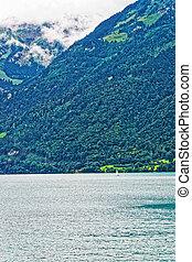 montagne, brienzer, voilier, lac, rothorn, suisse, berne, brienz