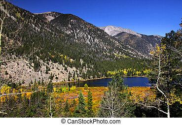 montagne, colorado, roccioso