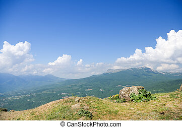 montagne, hight