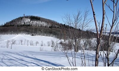 montagne, hiver, geisingberg