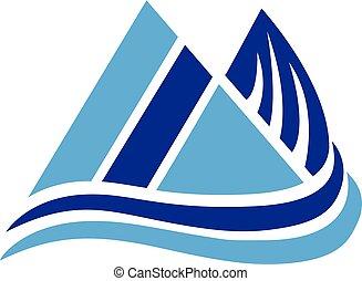montagne, logotipo