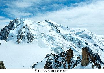 montagne, monter, ), massif, francais, midi, mont, été,...