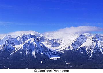montagne, nevoso