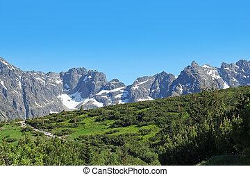 montagne, polonia, tatra