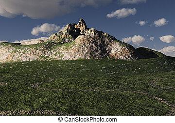 montagne, roche pierre