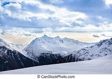 montagne, sci,  Solden, Ricorso