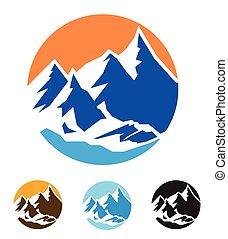 montagne, simbolo