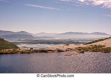 montagne, stupéfiant, utilisé, mer, être, campagne, could, motivation, content., inspirationnel, rural, distance., paysage